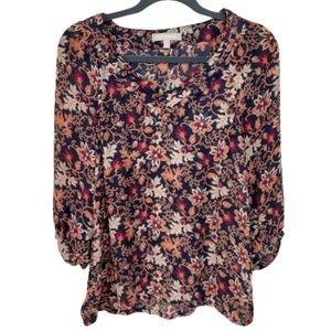 Banana Republic top, size Small, boho, blouse, EUC
